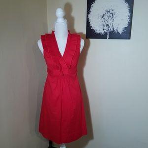 B Darlin Sleeveless Flare Cocktail Midi Dress 7/8